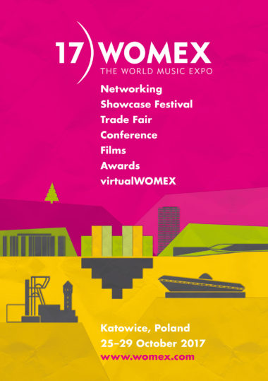 WOMEX17 keyvisual
