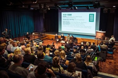 Speaker at the first Music Cities Convention at TGE, Brighton, UK in May 2016, Image source Sound Diplomacy